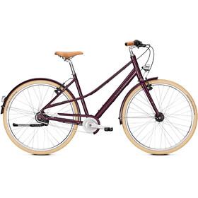 """Kalkhoff Scent Glare Urban Mixte - Vélo de ville Femme - 28"""" rouge/violet"""